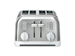 CONAIR CPT-180W 4SLICE METAL TOASTER WHT SS