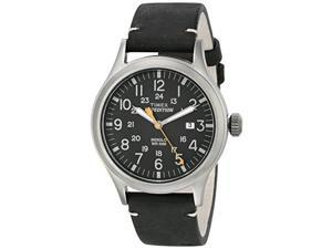 TIMEX TW4B019009J Timex Expedition Metal Scout - Black Leather/Black Dial