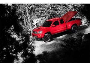 Undercover UC2136L-PQ LUX SE Model Tonneau, Race Red, Ford