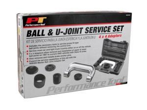 JEGS Performance Products W89304 9-Piece Ball & U-Joint Service Kit