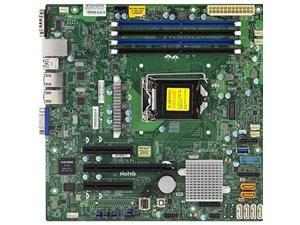 SUPERMICRO X11SSL-F-O Supermicro X11SSL-F-O LGA1151 Intel C232 DDR4 SATA3 and USB3.0 V and 2GbE MicroATX Motherboard