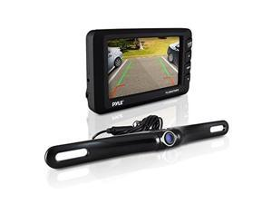 "PYLE PLCM4375WIR 4.3"" LCD Monitor & Wireless Rearview Backup Camera with Parking/Reverse Assist System"