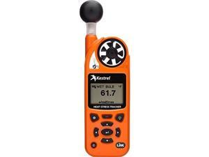 KESTREL 0854LVCORA Kestrel 5400 Heat Stress Tracker Pro w/Link,Compass + Vane Mount - Safety Orange