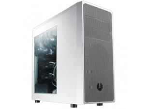 BITFENIX BFC-NEO-100-WWWKS-RP BitFenix Neos Window BFC-NEO-100-WWWKS-RP No Power Supply ATX Mid Tower Case (WhiteSilver)