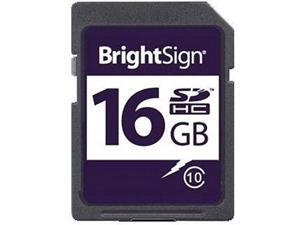 BRIGHTSIGN SDHC-16C10-1 SD CARD  16GB  CLASS 10