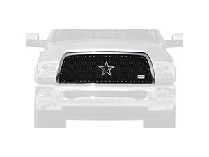 ROLLING BIG POWER RBP251463 13-14 RAM 2500/3500 RX SERIES STUDDED FRAME-MAIN GRILLE-BLACK-1PC (REQUIRES CUTT