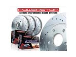 POWERSTOP PSBK5338-36 FRONT  and  REAR TRUCK AND TOW BRAKE KIT
