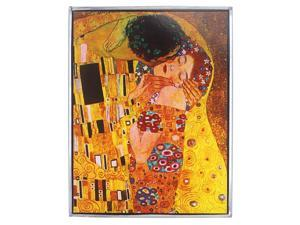 DESIGN TOSCANO GM1105 KLIMTS THE KISS 1908 ART GLASS