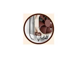 NOCTUA NH-U9S Noctua CPU Cooler NH-U9S S2011/1156/1155/1150/AM2+/AM3+/FM1/FM2+ 125mm PWM Fan Retail