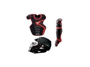M10 Adult Catcher Set Blk/Red