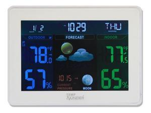MINDER RESEARCH MDRMRI-823MXC TEMPMINDER THERMOMETER NEW COLOR TEMPMINDER WITH TEMPERATURE AND HUMIDITY. UP TO
