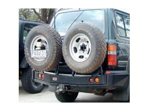 ARB 4X4 ACCESSORIES ARB5711212 ARB REAR BUMPER RIGHT SIDE TIRE CARRIER OPTION FOR TOYOTA LAND CRUISER 80 SERIES