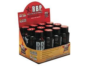 ROLLING BIG POWER RBP80011 (12 PACK)2 OZ BOTTLE SINGLE SHOT HIGH PERFORMANCE FUEL ADDITIVE(2 OZ TREATS 75 GALLONS)