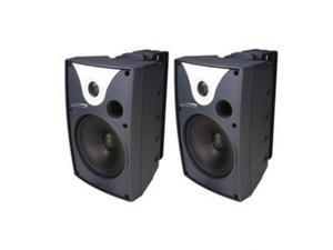 SPECO SPC-SP6AWXT 6 Outdoor Speaker Black and Trans. pair
