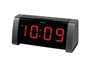 TIMEX T235BY JUMBO LED ALRMCLK BLK