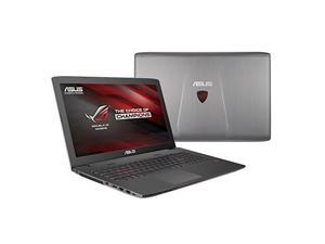ASUS GL752VW-GS71 Asus ROG GL752VW-GS71 17.3 inch Intel Core i7-6700HQ 2.6GHz 16GB DDR4 1TB HDD GTX 960M DVDRW USB3.1 Windows 10 Notebook (ROG Metallic)