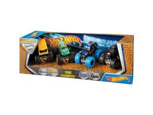 MATTEL H9577 HOTWHEELS MONSTER JAM TOUR FAVS 4-PK