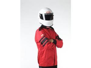 RACEQUIP RQP111016 SFI-1 1-L JACKET RED X-L