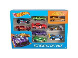 MATTEL X6999  HOT WHEELS 9CAR GIFT
