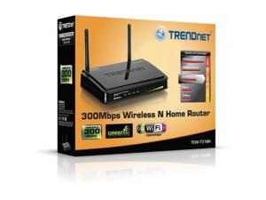 TRENDNET TEW-731BR TRENDnet TEW-731BR 300Mbps Wireless N Home Router