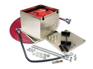 Taylor T6448203 Battery Box: various models&#59; Battery Box&#59; with 1 gauge cable&#59; aluminum