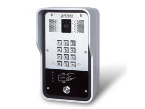 PLANET HDP-5260PT 720p SIP Multi-unit Apartment Vandalproof Door Phone with RFID and PoE: IETF SIP, 2 SIP Lines, 802.3af POE, H.263/H.264, 720p@30fps, HD Voice, QoS, VPN, VLAN, SNMP, IPv6, TR069, AEC,
