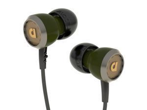 Audiofly AF33M In-Ear Headphones Mic Earbuds Earphones Green Authorized Dealer