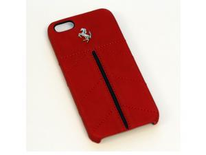 Ferrari iPhone 5 / 5S Red Leather & Stitching Case CG Mobile New FECFIP5R