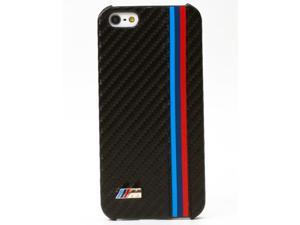 CG Mobile BMW iPhone 5 / 5S Motorsport Carbon Fiber Effect Hard Case BMHCP5MC