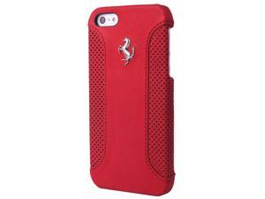 CG Mobile Ferrari Genuine Red Leather Hard Case iPhone 5 / 5S  FEF12HCP5RE