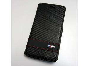 CG Mobile BMW iPhone 6 Carbon Fiber Effect Book Type Case BMFLBKP6MCC