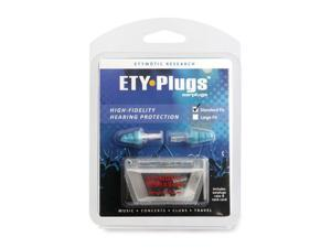 Etymotic ER20 Ety Earplugs - Standard Fit - Clear Stem / Frost Tip