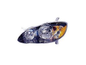VAIP TY10090C1R Passenger Side Replacement Headlight For Toyota Corolla