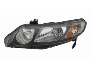 VAIP HD10099B3L Driver Side Replacement Headlight For Honda Civic