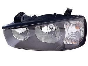 VAIP HN10081A1L Driver Side Replacement Headlight For Hyundai Elantra