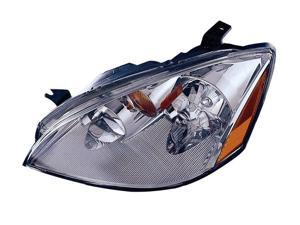 VAIP NS10081A1L Driver Side Replacement Headlight For Nissan Altima