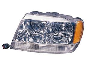 Eagle Eyes CS097-B001L Driver Side Replacement Headlight For Jeep Grand Cherokee