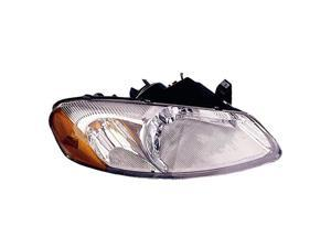 VAIP DG10093A1R Right Replacement Headlight For Chrysler Sebring Dodge Stratus