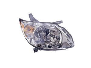 Eagle Eyes GM305-B101R Passenger Side Replacement Headlight For Pontiac Vibe