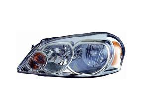 VAIP CV10002A1L Driver Replacement Headlight For Chevrolet Impala Monte Carlo