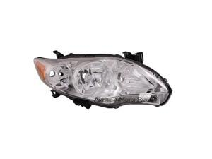 Eagle Eyes TY1149-A011R Passenger Side Replacement Headlight For Toyota Corolla