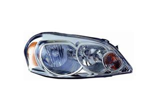 VAIP CV10002A1R Passenger Replacement Headlight For Chevrolet Impala Monte Carlo