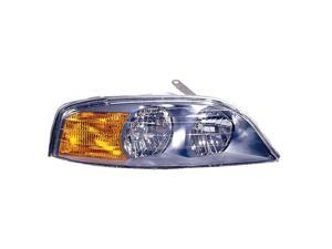 TYC 20-5859-01 Passenger Side Replacement Headlight For Lincoln LS