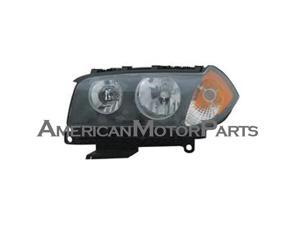 Replacement TYC 20-6970-00 Driver Side Headlight For 04-06 BMW X3