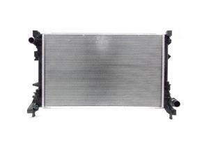 Tyc 13245 Replacement Radiator For Fiat 500 (3Dr/Conv, Auto/Manual Transmission)