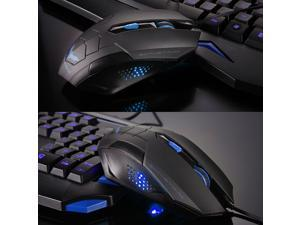 2014 Havit Magic Eagle 2400DPI X4 7D 6 Buttons Optical Usb Professional Gaming Mouse for Razer WOW CS CF FPS LOL Gamer