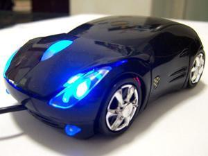 2014 Ferrari Top Racing Sport Car Shape Optical Mouse Mice with Headlight Cool Look Amazing 7 Colors available