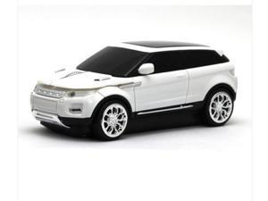 2014 Land Rover Range Evoque 1600DPI 3D Car Shape Usb Optical Wireless Gaming Mouse Mice White
