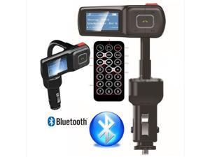 2014 NEW Handsfree Bluetooth Car Kit / Kits Car MP3 Micro SD Usb Disk Aux FM Transmitter Modulator iPhone Galaxy