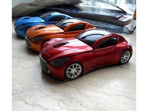 NEW 1600DPI Infiniti 3D Sport Car Mouse Shape Wireless Mouse Usb Mouse for Laptop PC in Orange